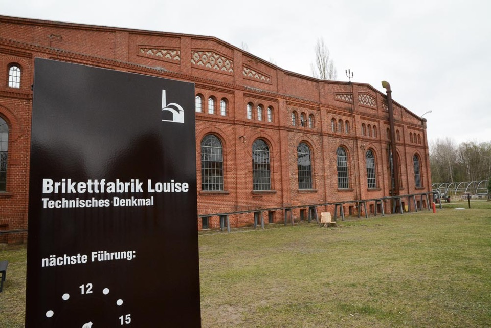 "Brikettfabrik ""Louise"",Foto: D.Horn Industriekultur Technikgeschichte"