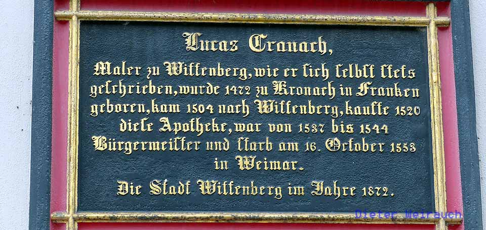 Cranach Wittenberg