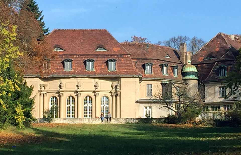 Schloss Marquardt im Sommer, Foto: D.Weirauch