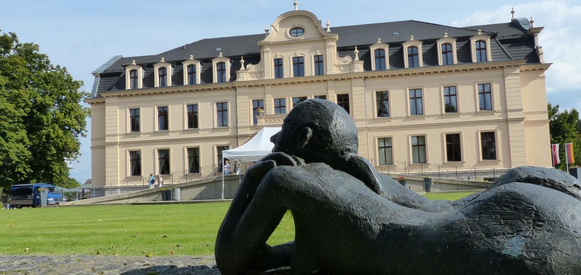 Blick auf Schloss Ribbeck im Havelland, Foto: D.Weirauch