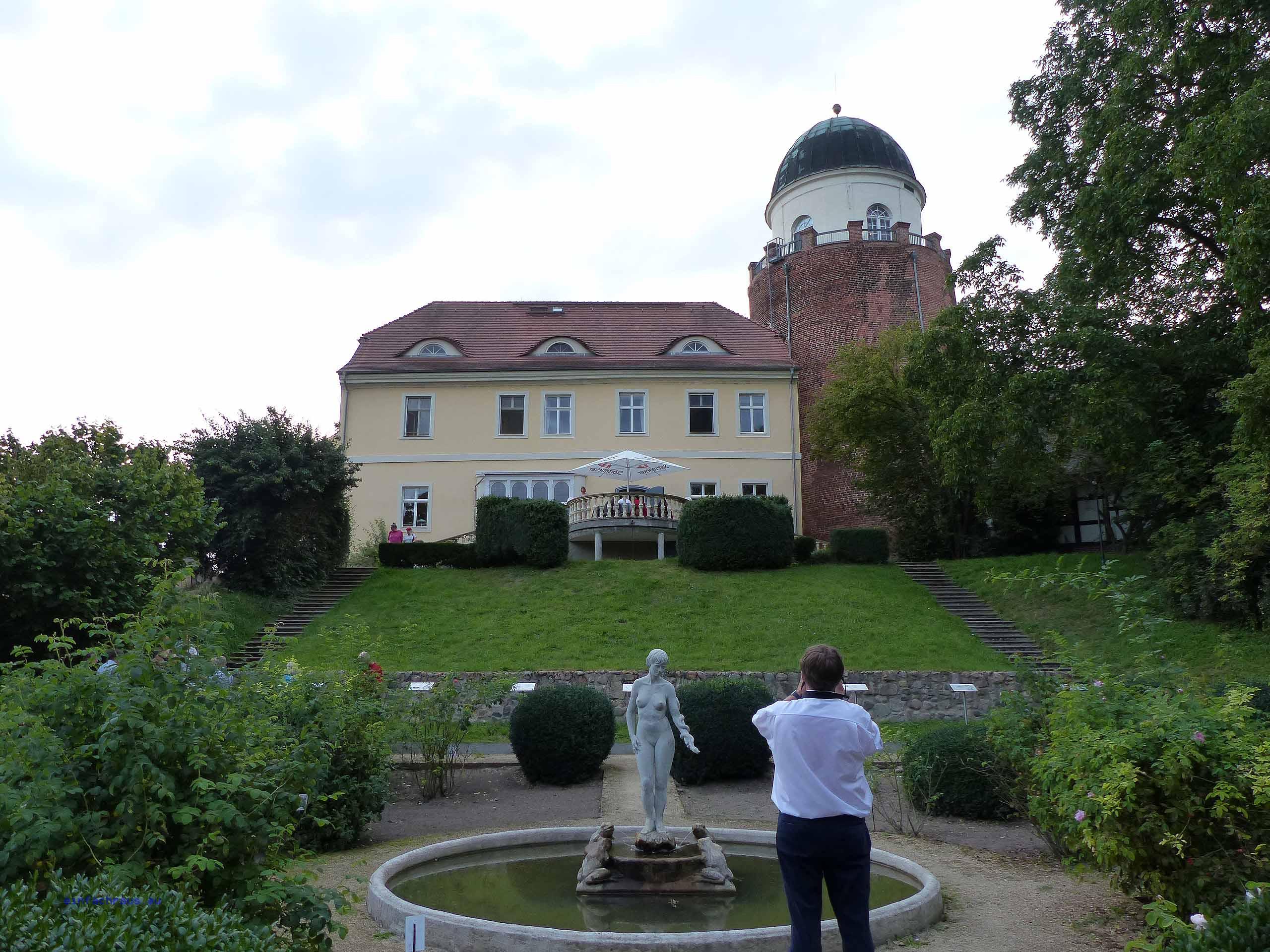 Der Burghügel der Burg Lenzen birgt die Geheimnisse slawischer Siedler, die sich in der Prignitz niedergelassen hatten