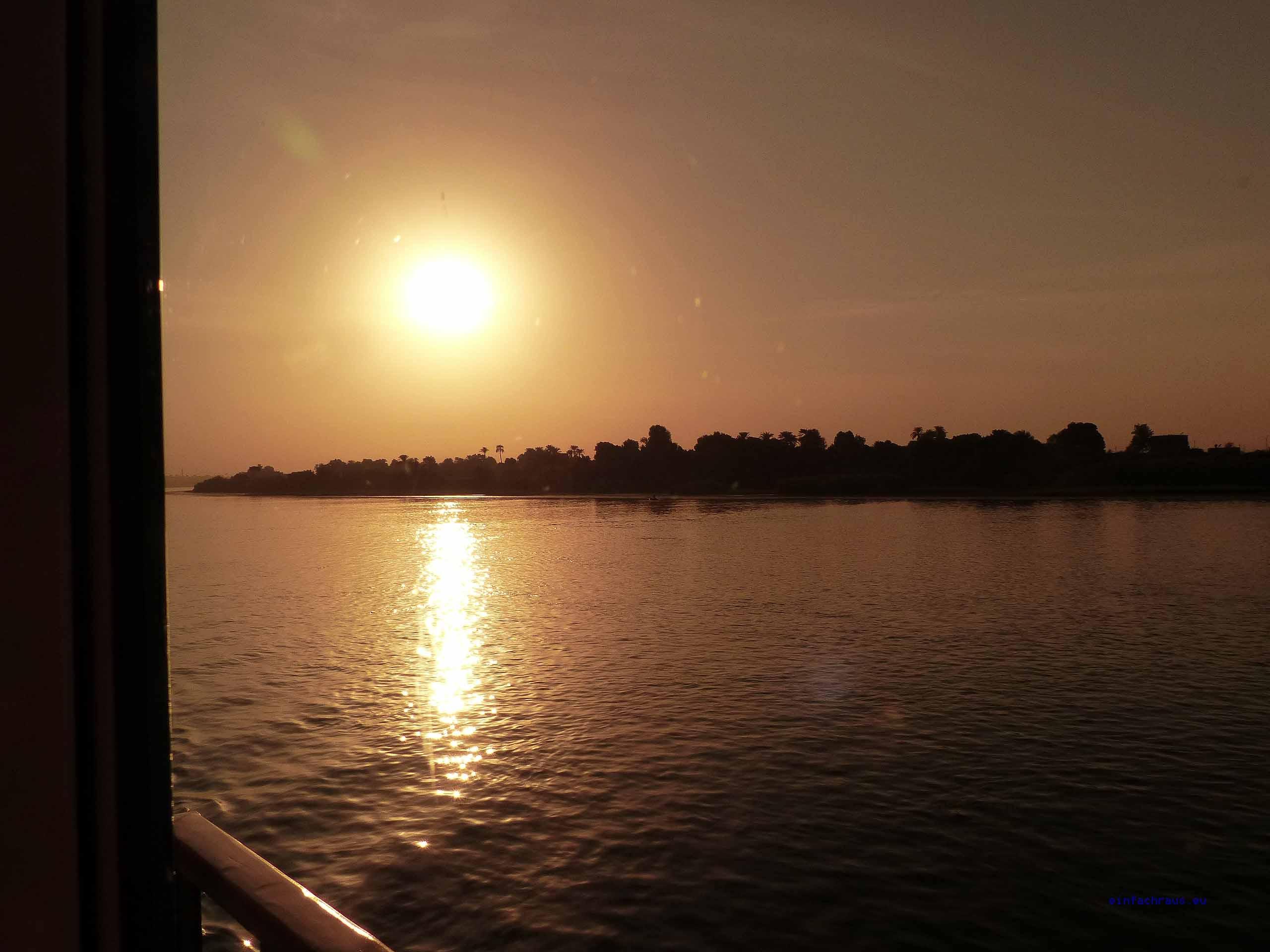 ägypten Fischer auf dem Nil bei Luxor, Foto: Weirauch