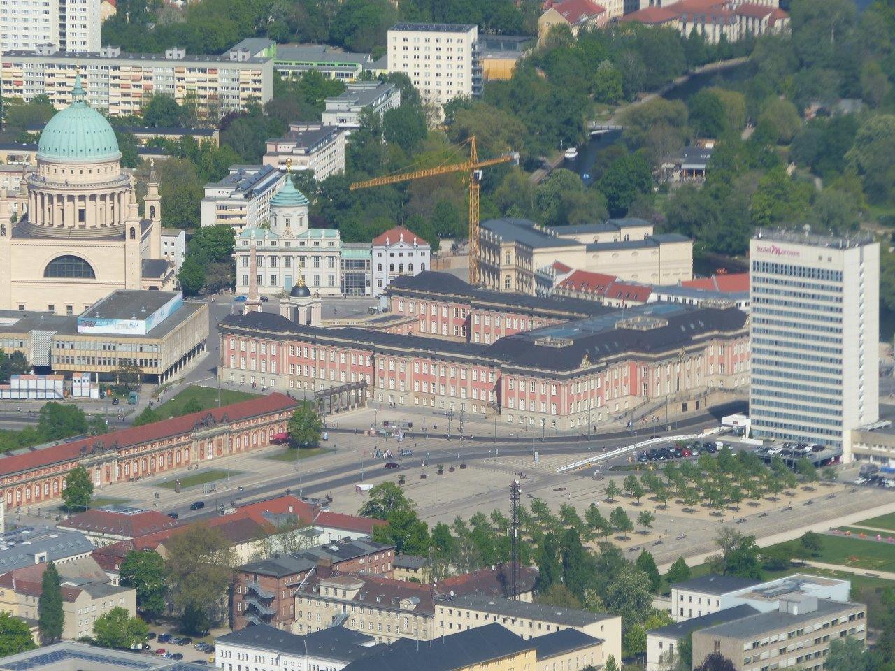 Luftbild Potsdamer Stadtmitte, Foto: D.Weirauch