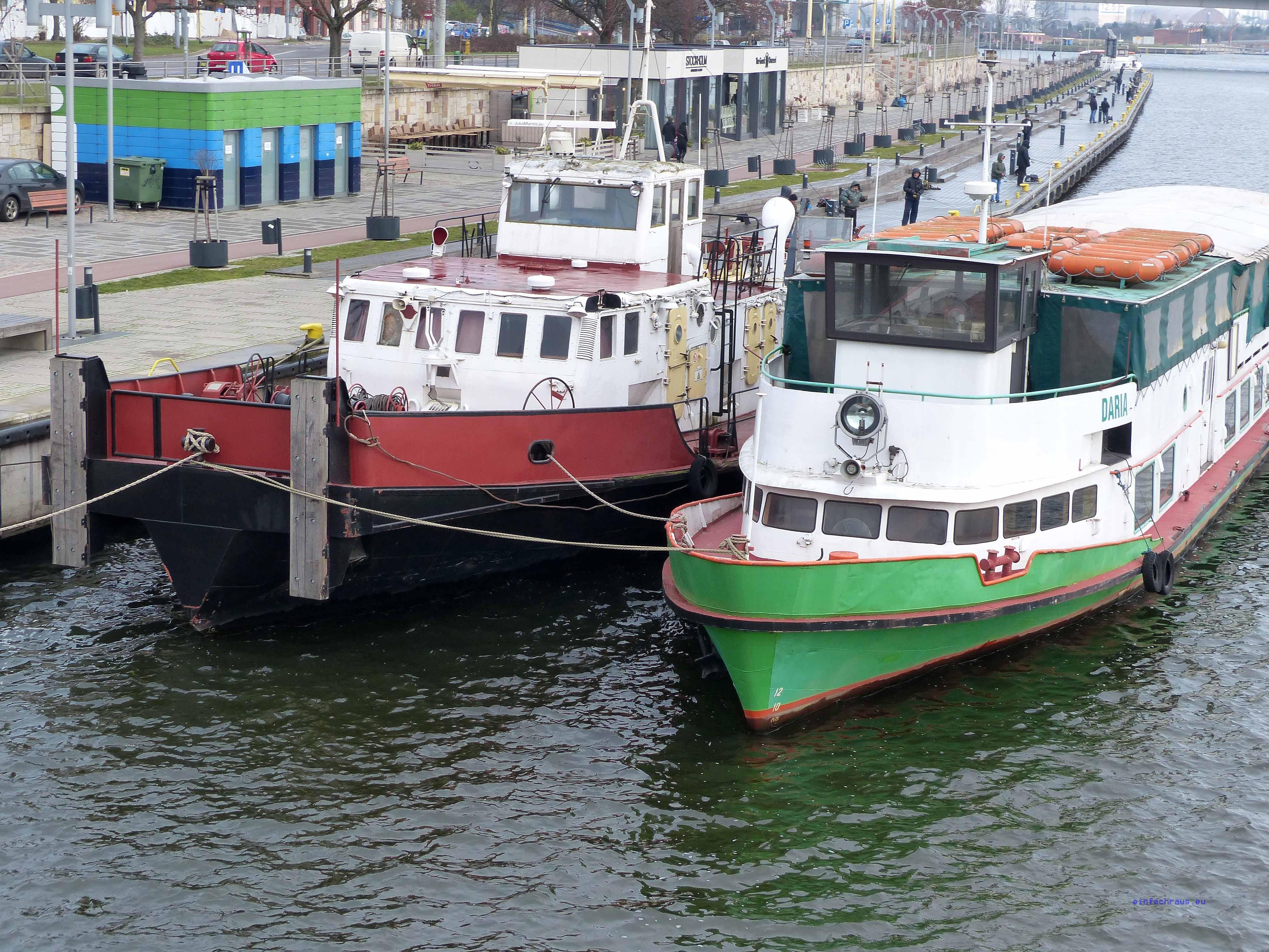 Hafen Stettin Polen