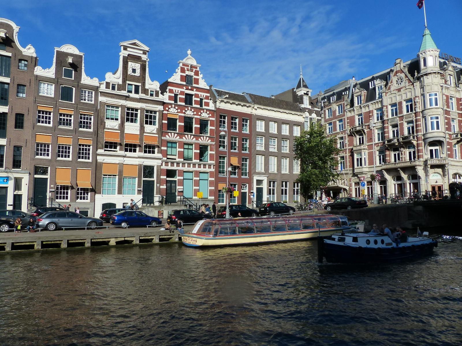 Typische Gracht in Amsterdam, Foto: Weirauch nicko