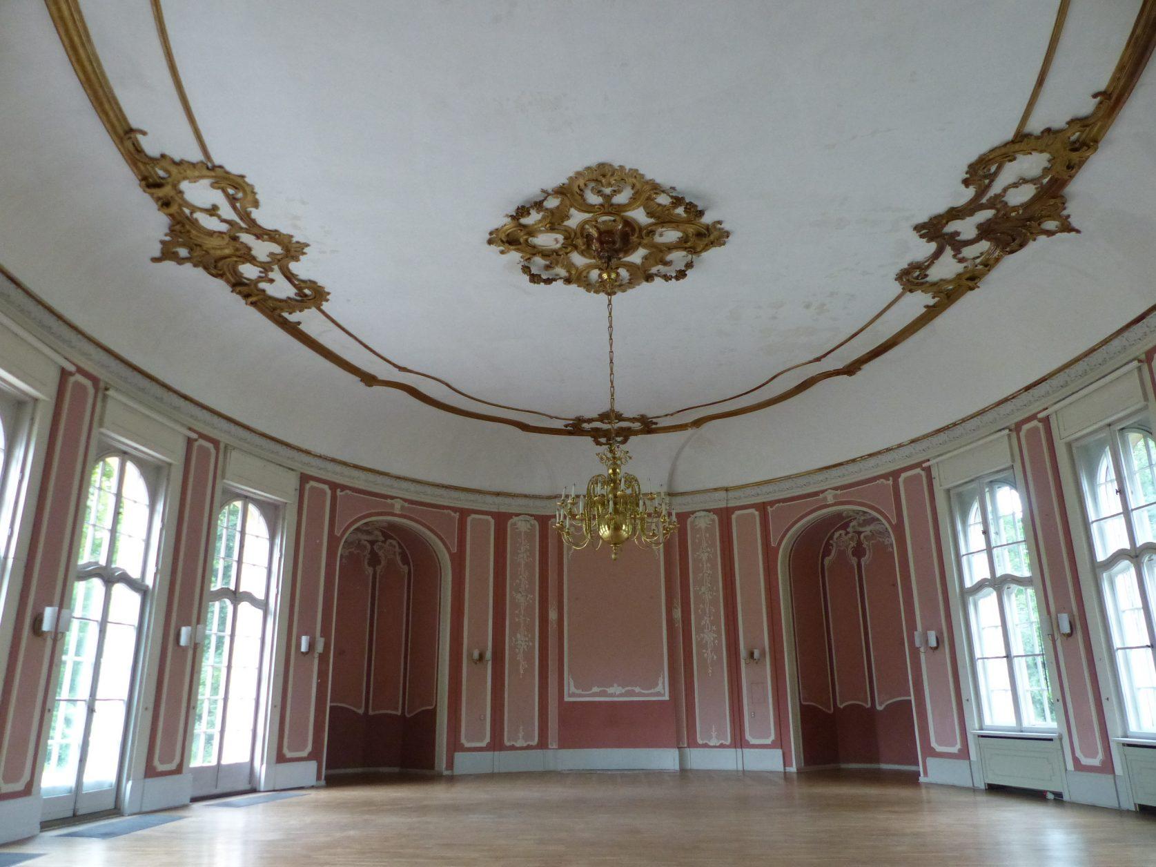 Blick in den Tanzsaal im Schloss Marquardt, Foto: D.Weirauch