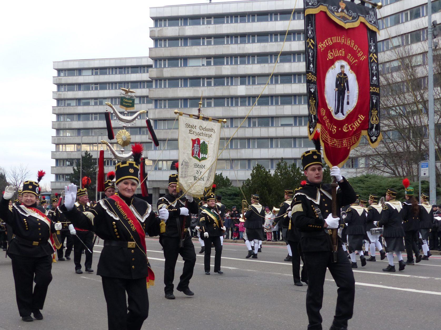 Bergparade Chemnitz Sachsen