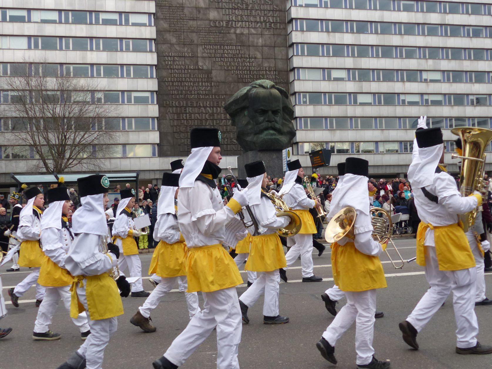 Chemnitz Sachsen Bergparade