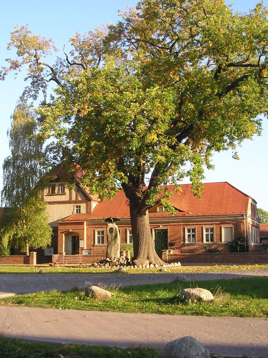 Heimatmuseum in Wustrau Foto. Weirauch