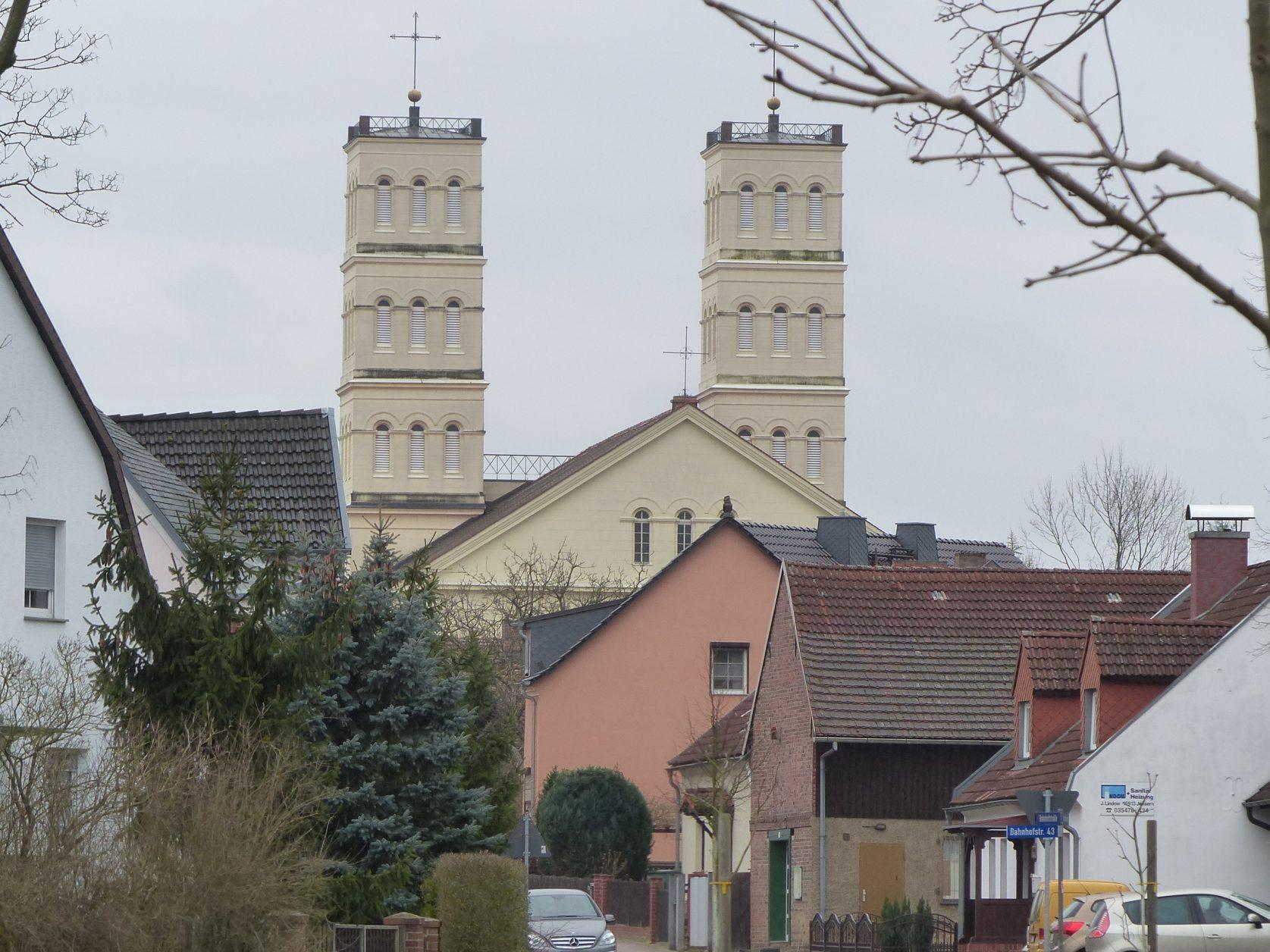 Schinkelkirche in Straupitz, Foto: D.Weirauch