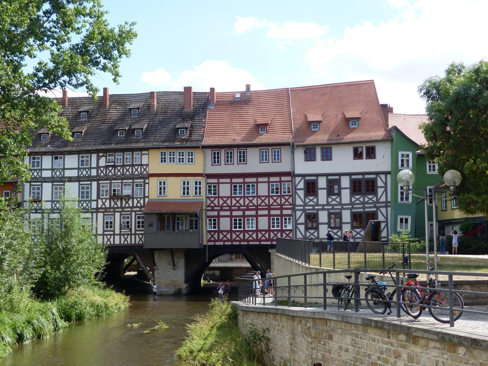 Krämerbrücke Erfurt Thüringen