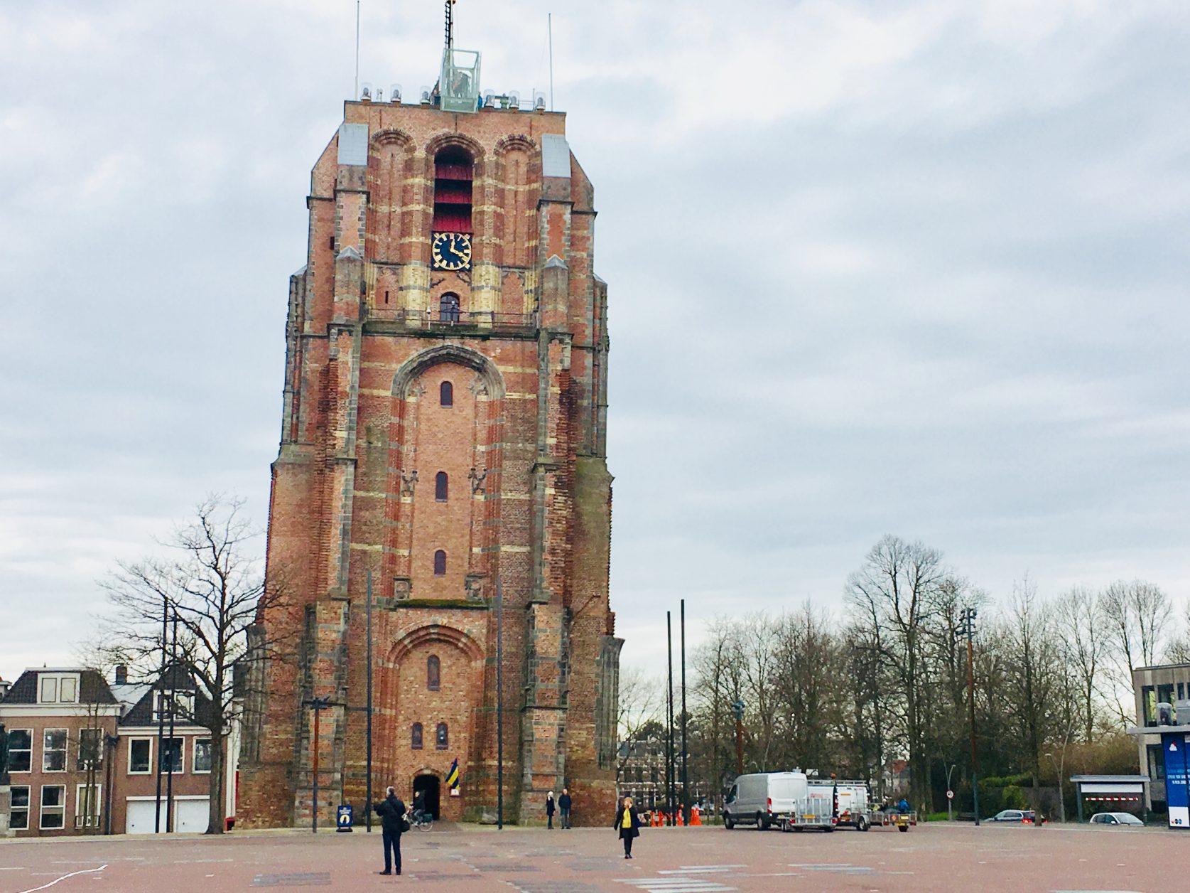 Oldehoove, der schiefe Turm von Leeuwarden, Foto: D.Weirauch