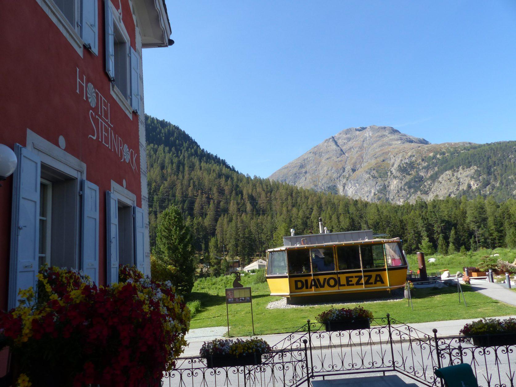Schweiz Diavolezza Foto. Weirauch