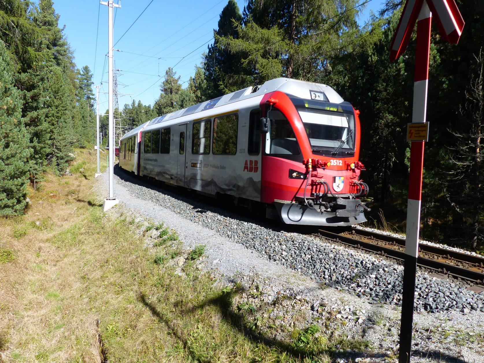 Schweiz Rätsche Bahn