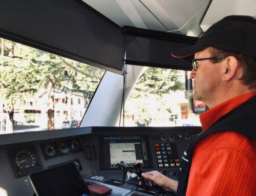 UNESCO-Welterbe: Im Führerstand des Bernina Express