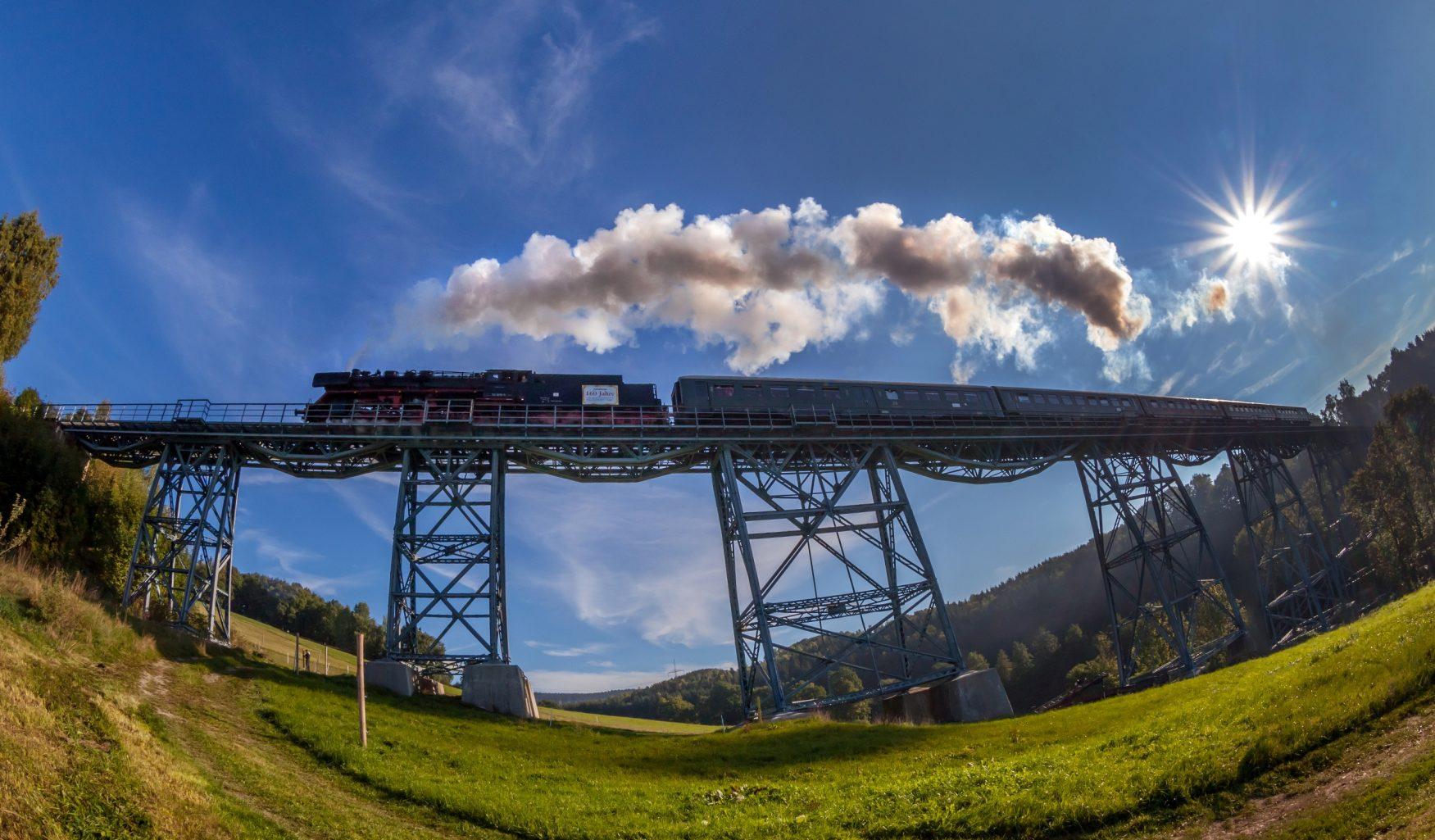 Fotograf / Quelle Tourismusverband Aussichtsbahn Viadukt e.V./Uwe Meinhold