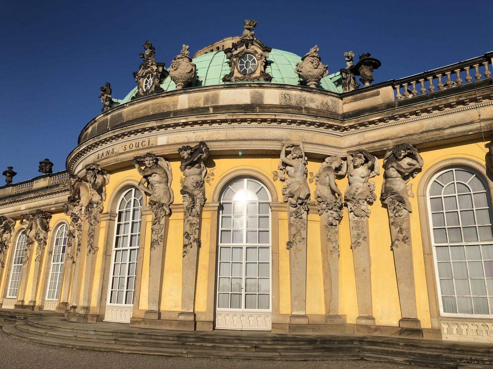 Schloss Sanssouci in Potsdam Foto: Weirauch