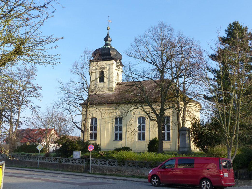 Kirche in Päwesin Dorfkirche Havelland