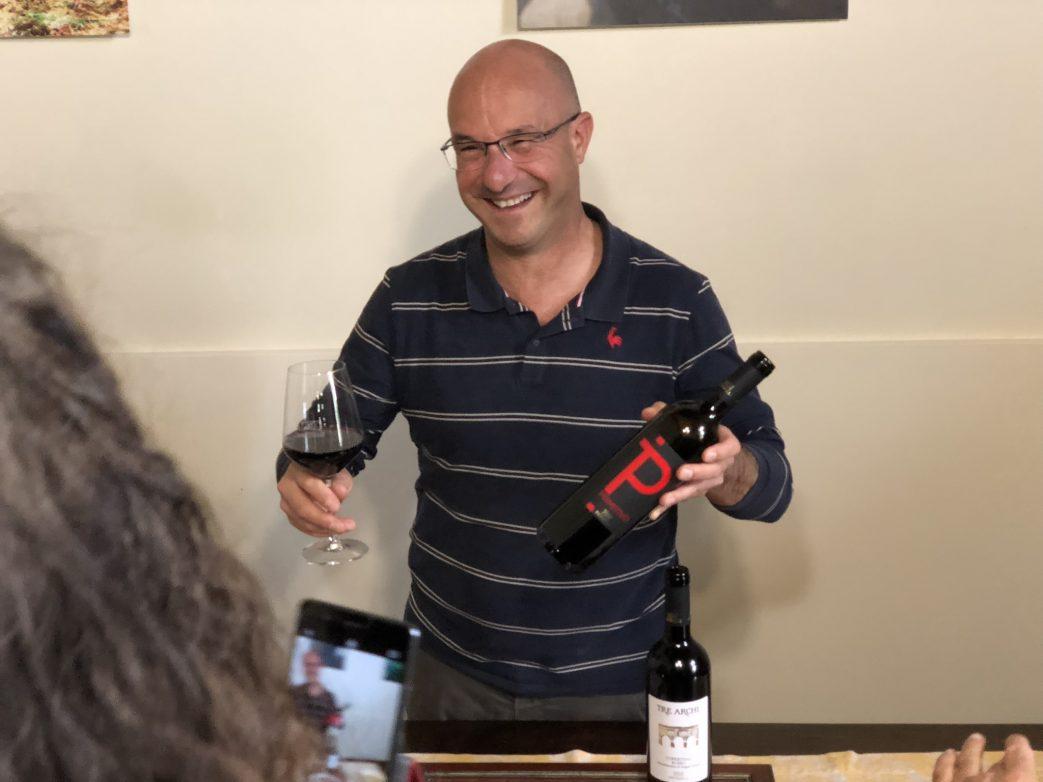 17 Hektar bewirtschaftet das Weingut Cantina Petrelli, Foto: Kärstin Weirauch