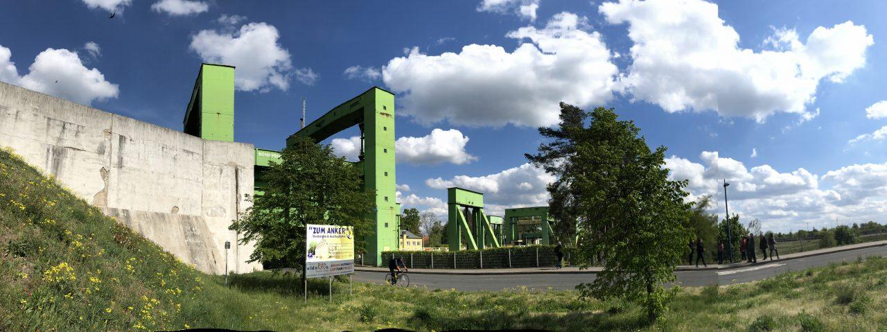 Schiffshebewerk Rothensee Industriekultur Panorama Sachsen-Anhalt