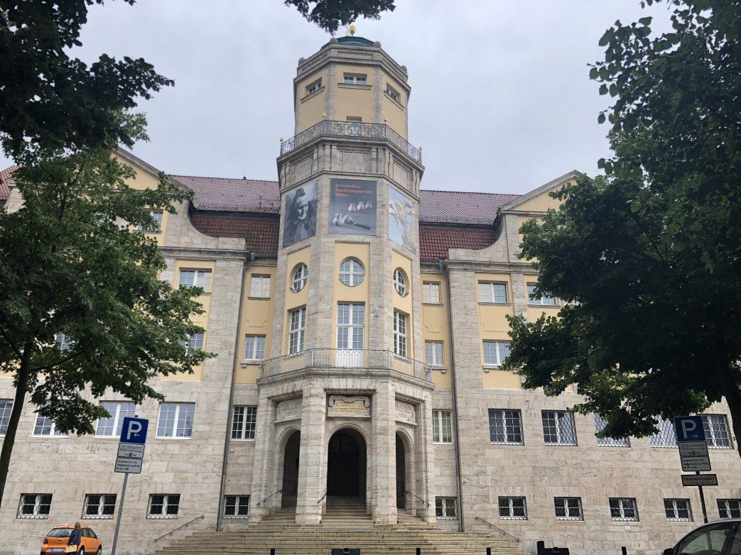 Das Hessische Landesmuseum in Kassel Foto: Weirauch