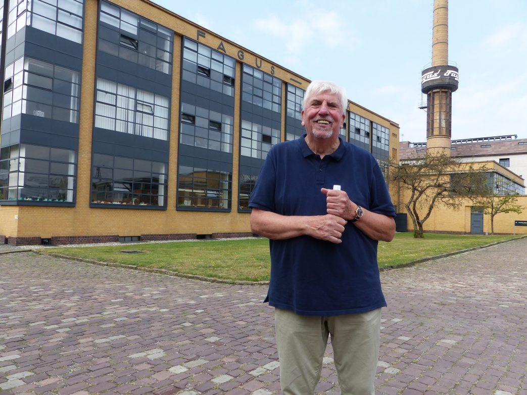 Der profundeste Kenner des Faguswerkes ist Herr Schünemann, Foto: Weirauch