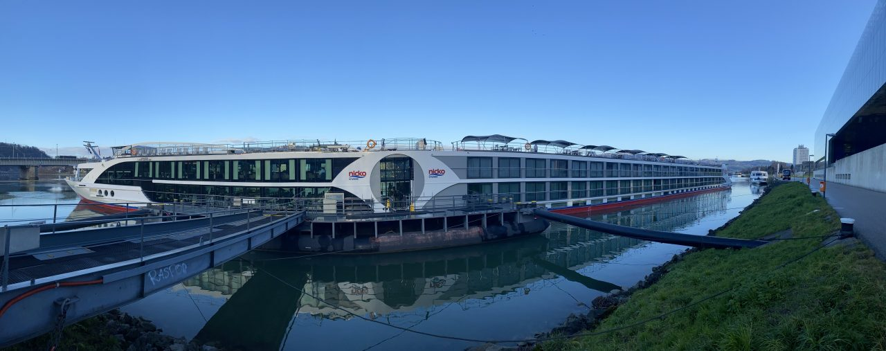 Panorama Nickovision in Linz