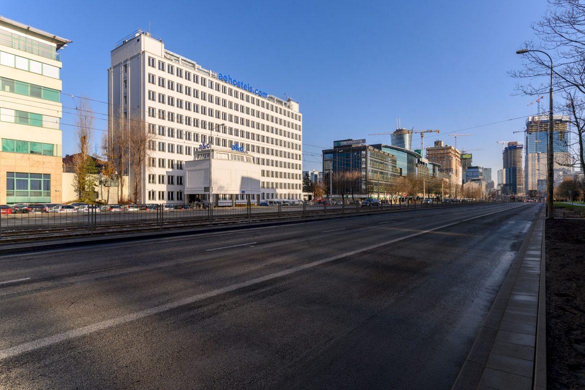 a&o Warschau - 199 Zimmer auf acht Etagen. Das ehemalige Bürogebäude wurde in 12 Monaten umgebaut (Foto: a&o)