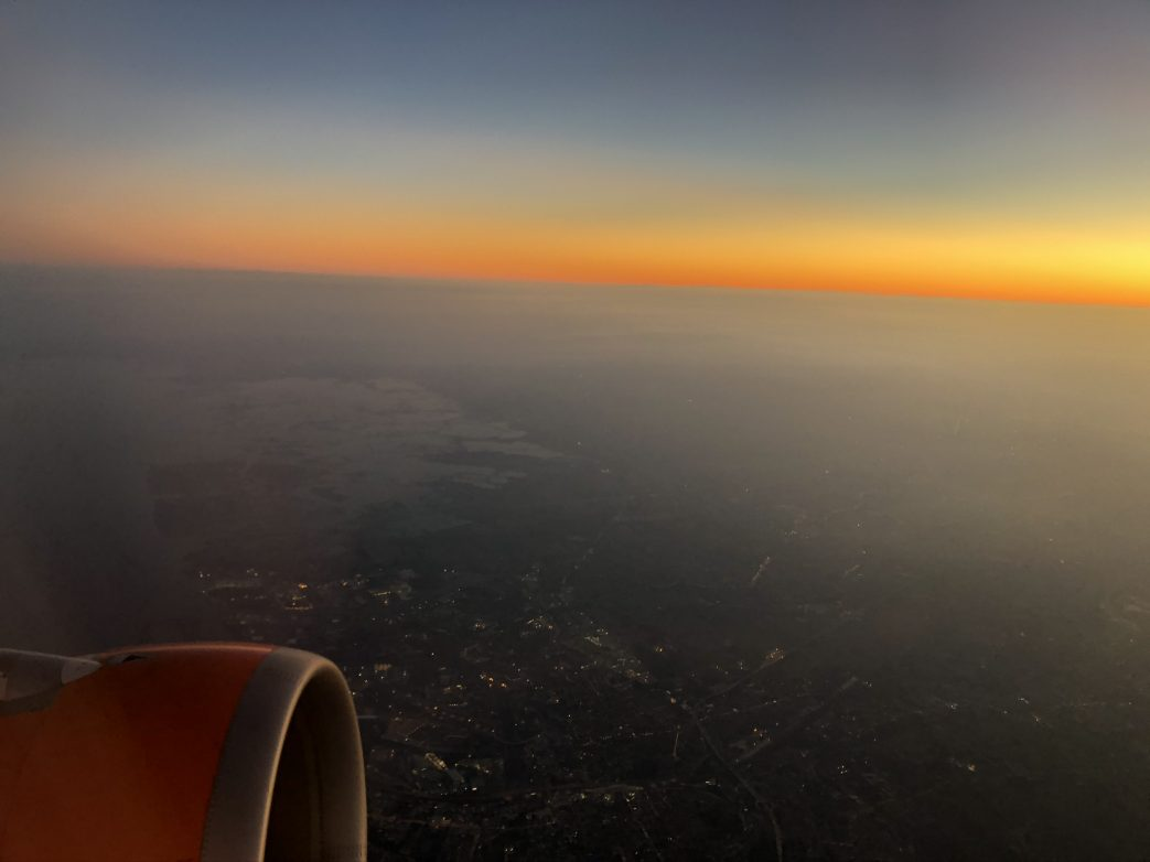 Fliegen Flugzeug Himmel Sonne
