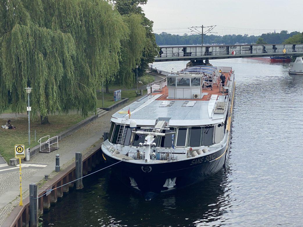 MS Sans souci im Potsdamer Hafen Foto: Weirauch