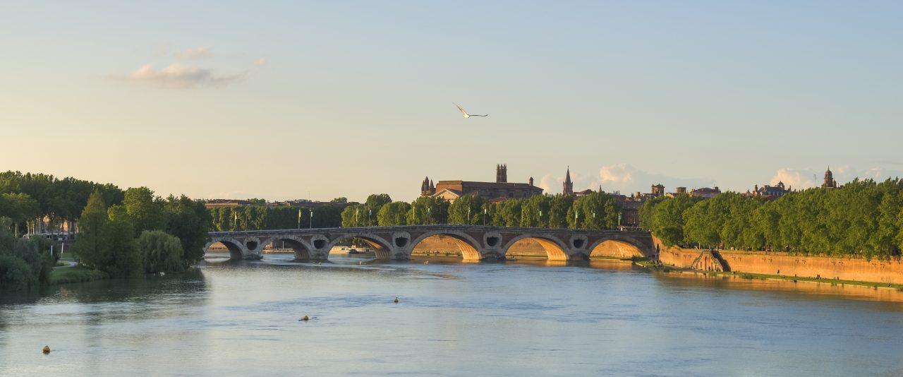 Frankreich Pont neuf, älteste Brücke von Toulouse© jourdenuit - Matthieu Krieger