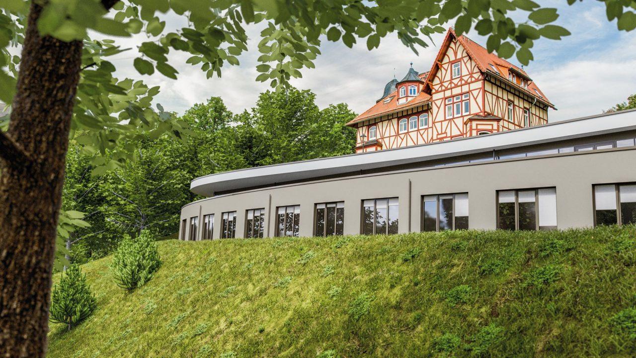 Romantik Hotel FreiWerk Aussenansicht Stolberg, Harz