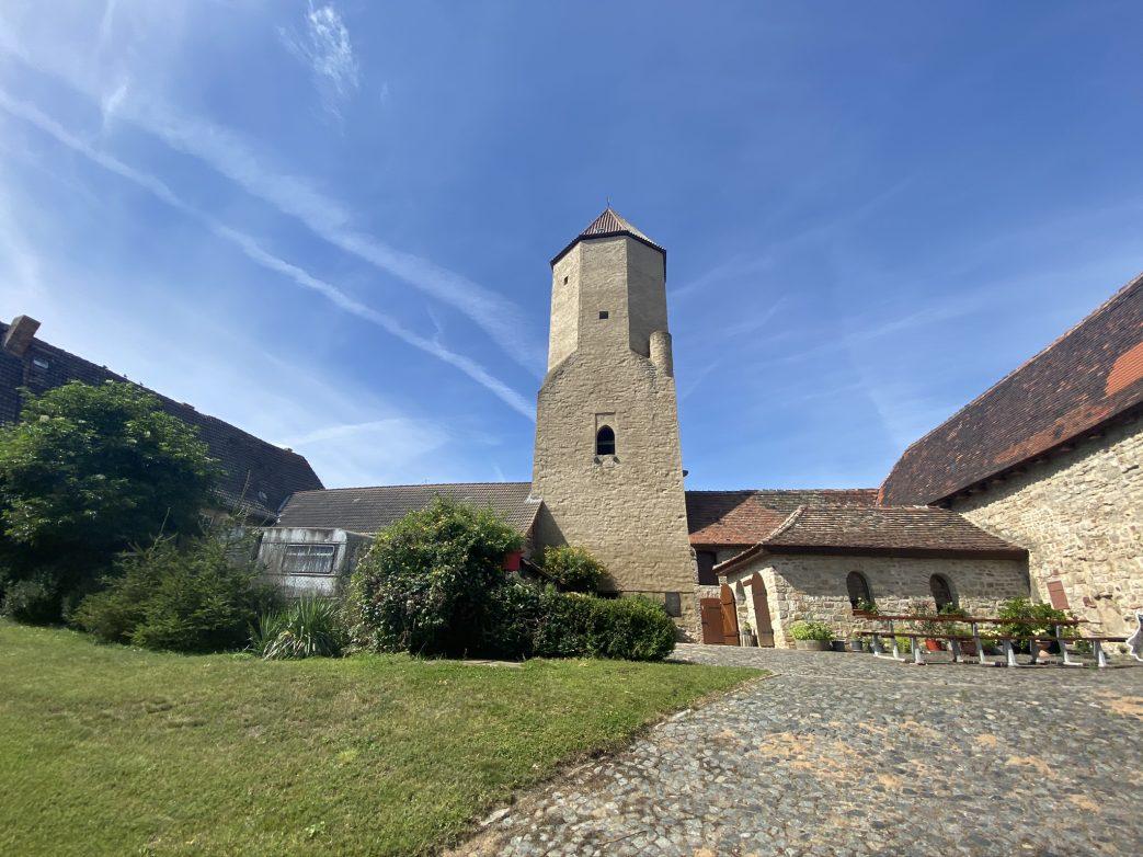 Soll Teil der Straße der Romanik werden: Burg Freckleben