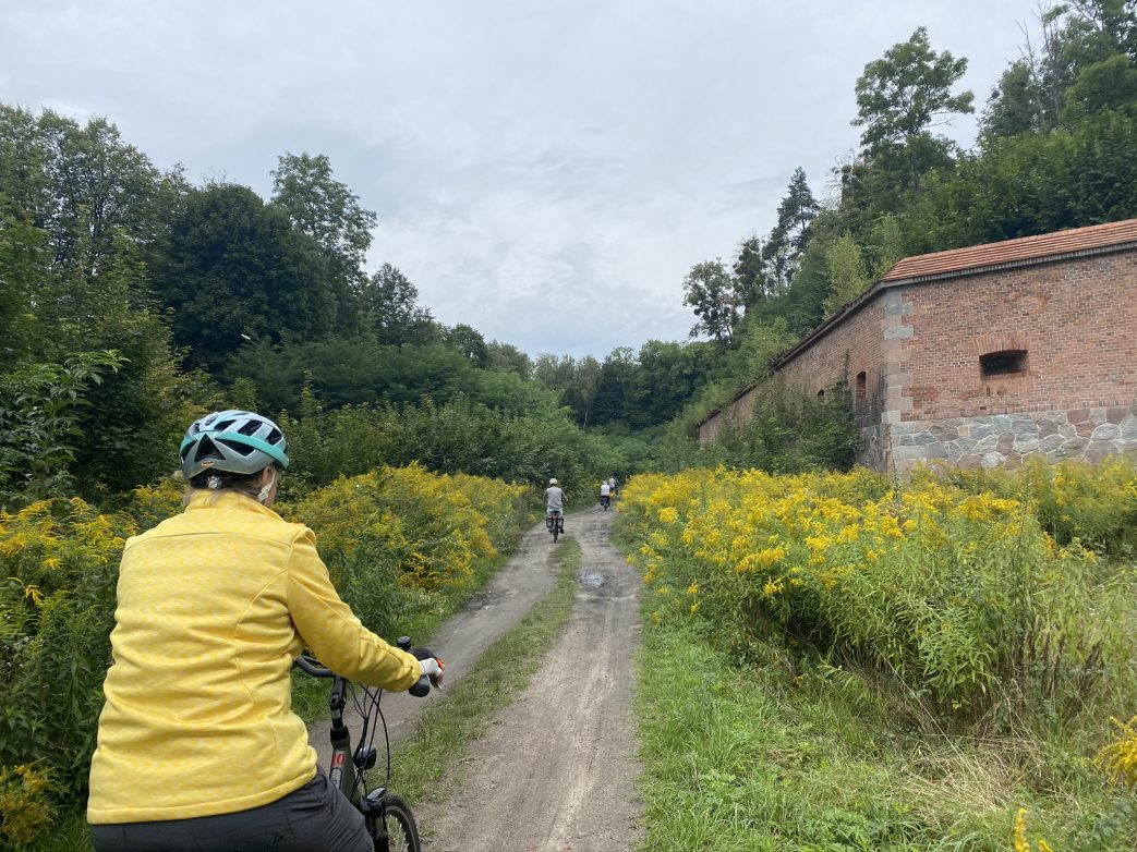 Radfahren zur Feste Boyen