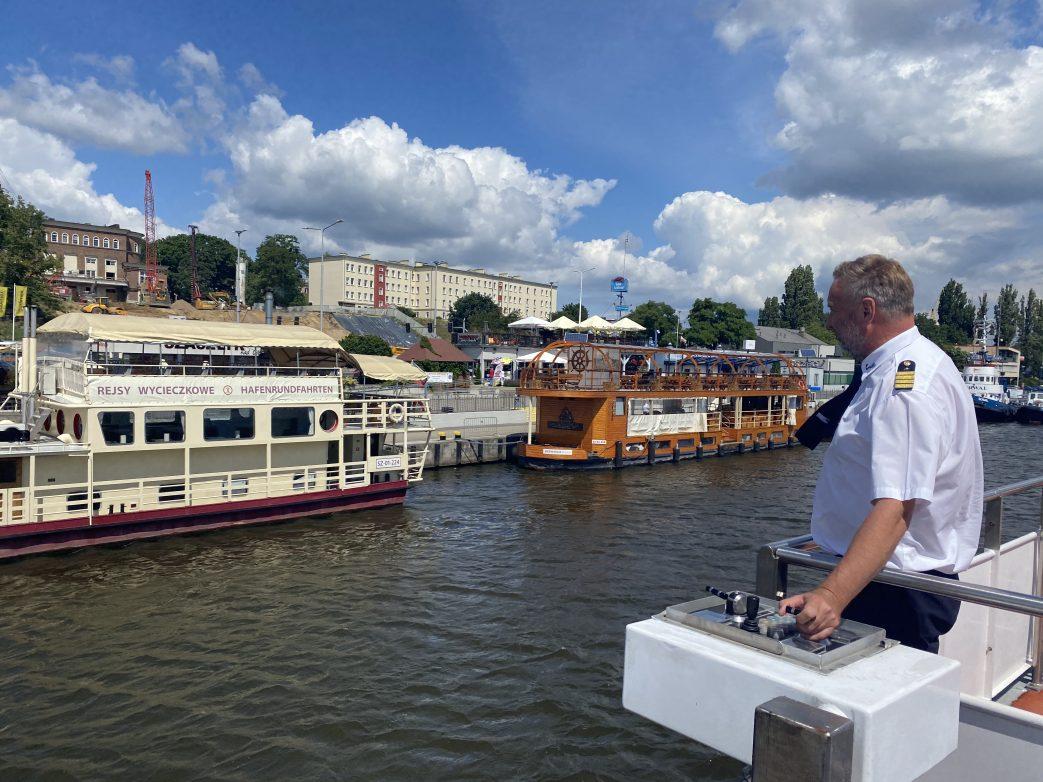 Hafen Stettin