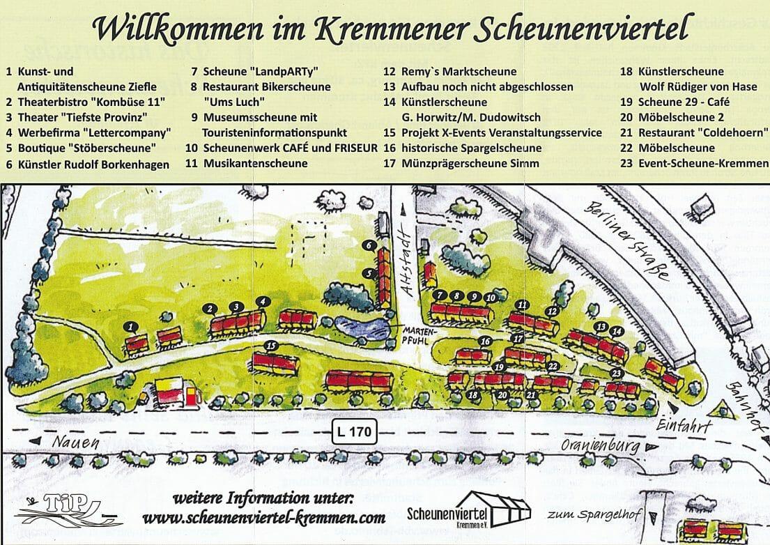 Karte Scheunenviertel
