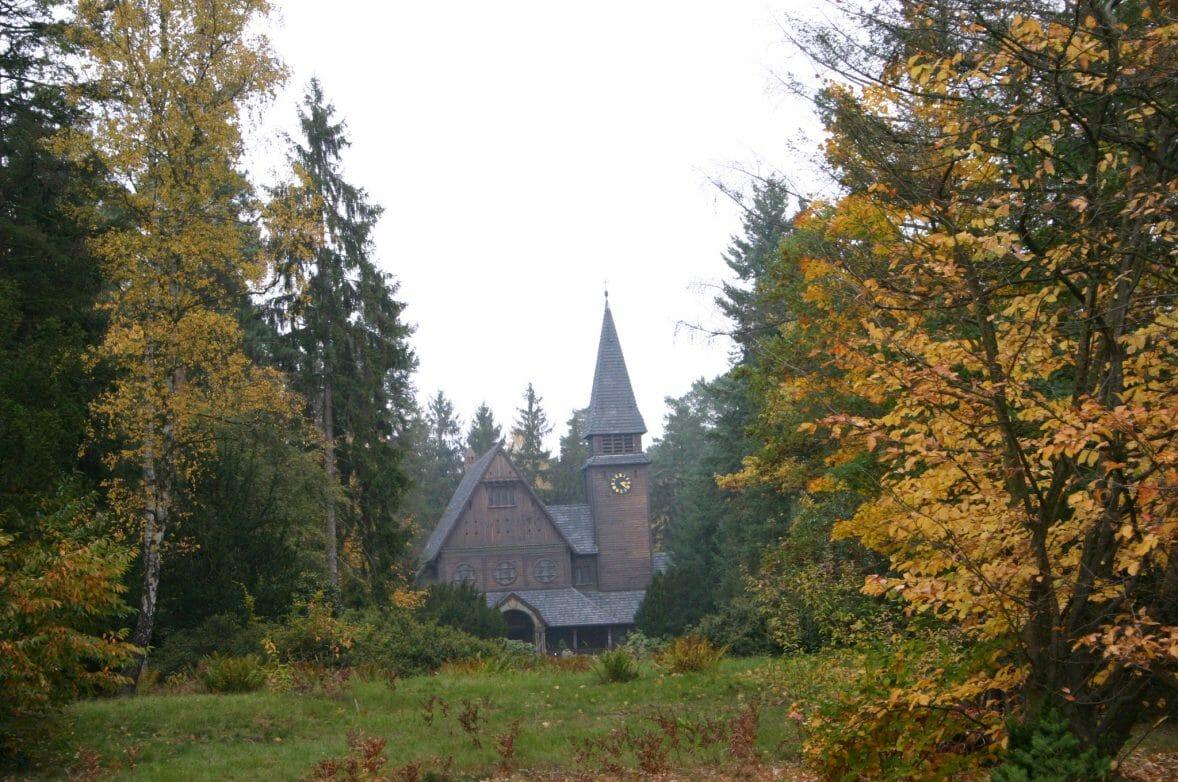 Stahnsdorfer Südwestkirchhof Herbst