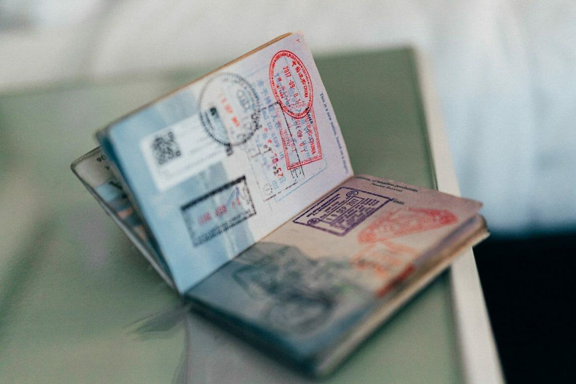 Visa Stockfoto