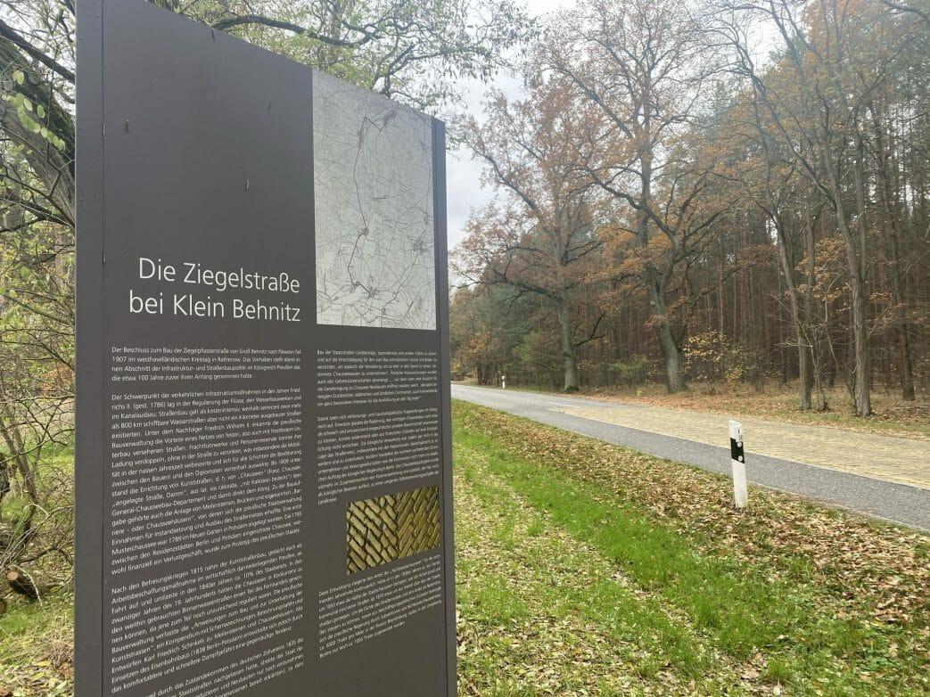 Ziegelstraße Klein Behnitz Havelland klinker