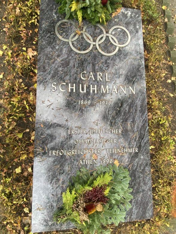 Carl Schumann war Teilnehmer der Olympischen Spiele 1896 in Athen