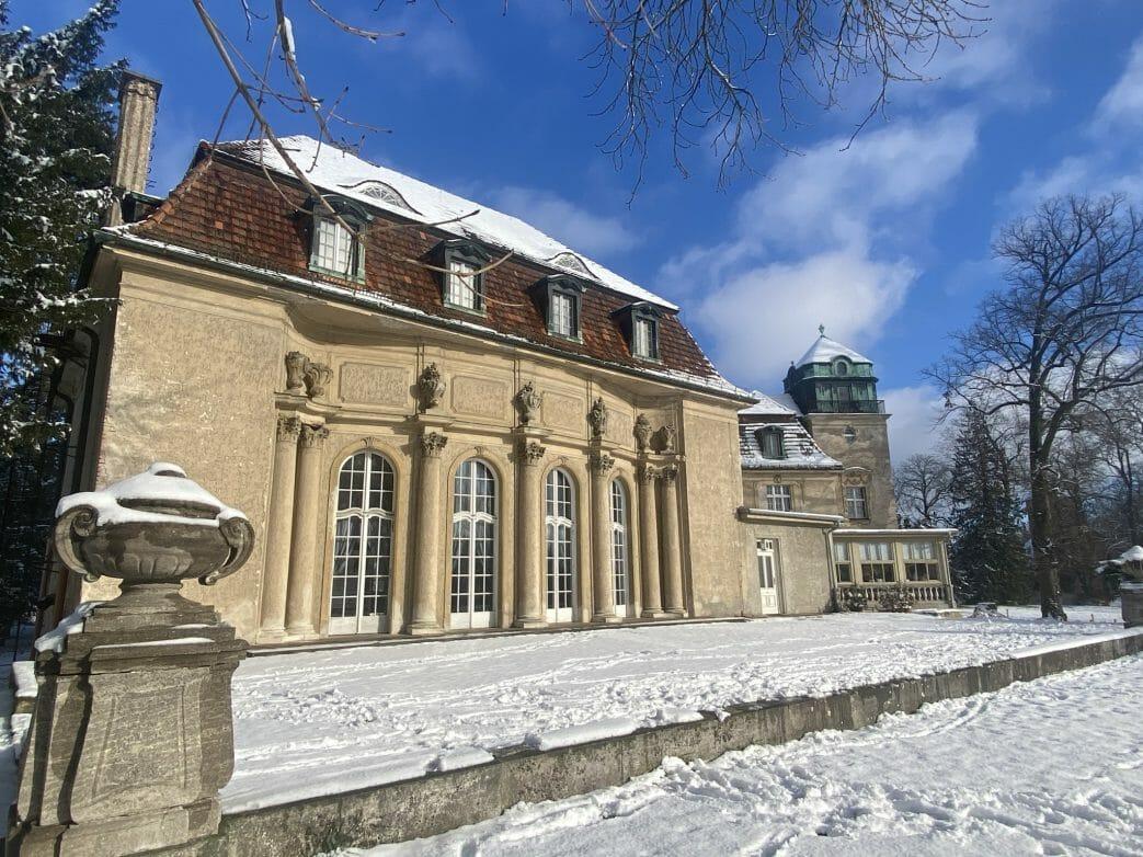 Schloss Marquardt im Winter