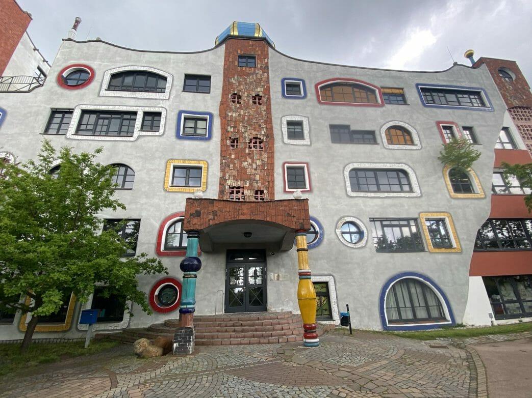 Hundertwasserschule Wittenberg Sachsen-Anhalt