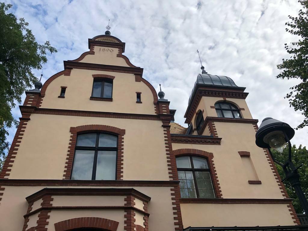Villa von Marinemaler Saltzmann