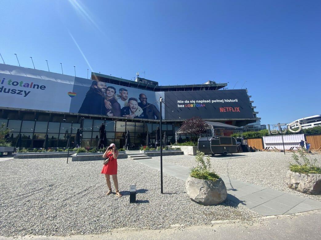 Das Hotel fotum in Krakau