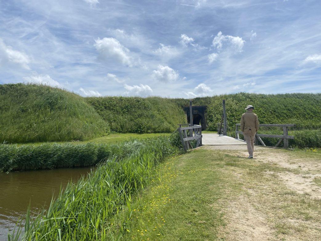 Fort de Schans Texel Niederlande