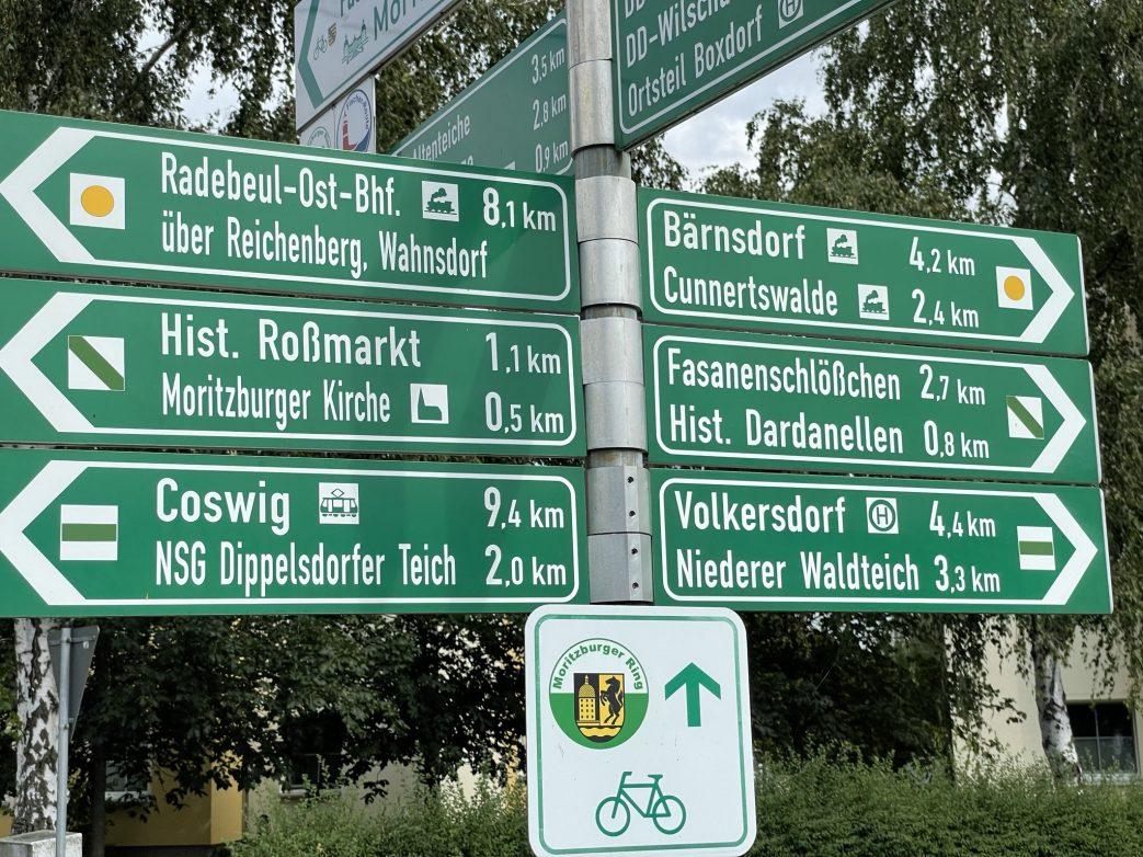 Radebeul.Eisenbahn Sachsen