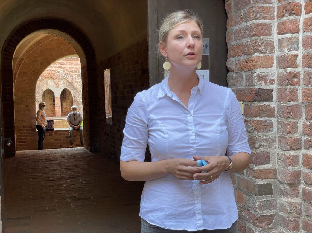 Museumsleiterin Josefine Telemann