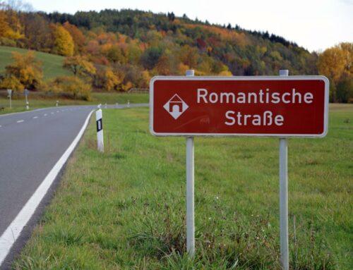 Herbstzeit an der Romantischen Straße