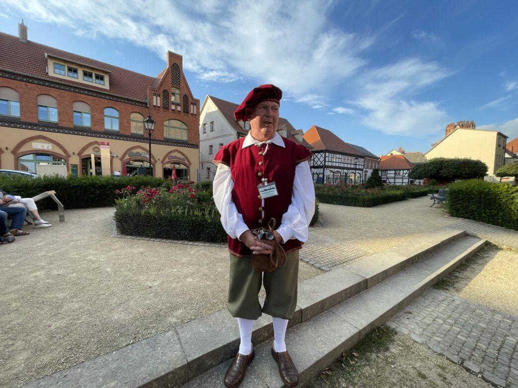 Stadtführer Hanse in der Hansestadt Tangermünde