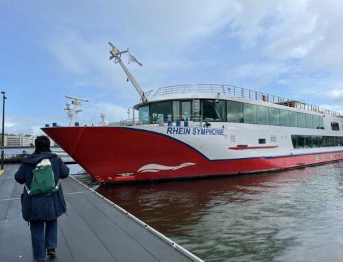 Mit nicko cruises auf dem Rhein von Köln bis Amsterdam